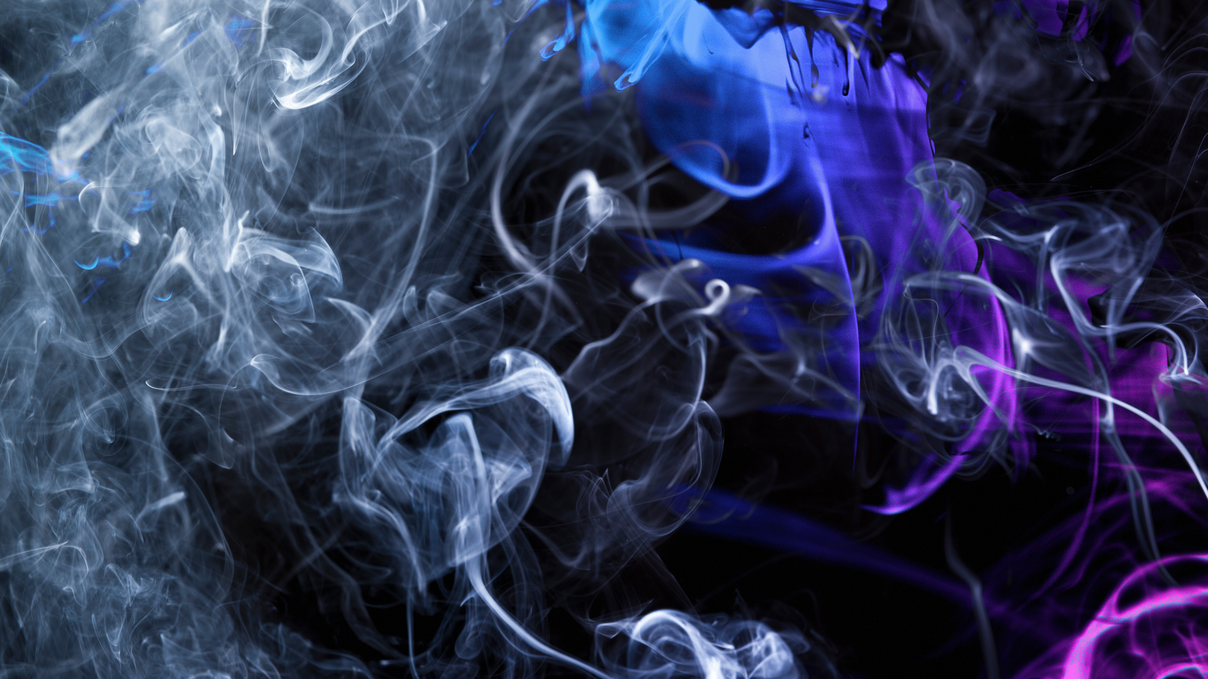 4k Abstract Smoke Wallpaper Hd