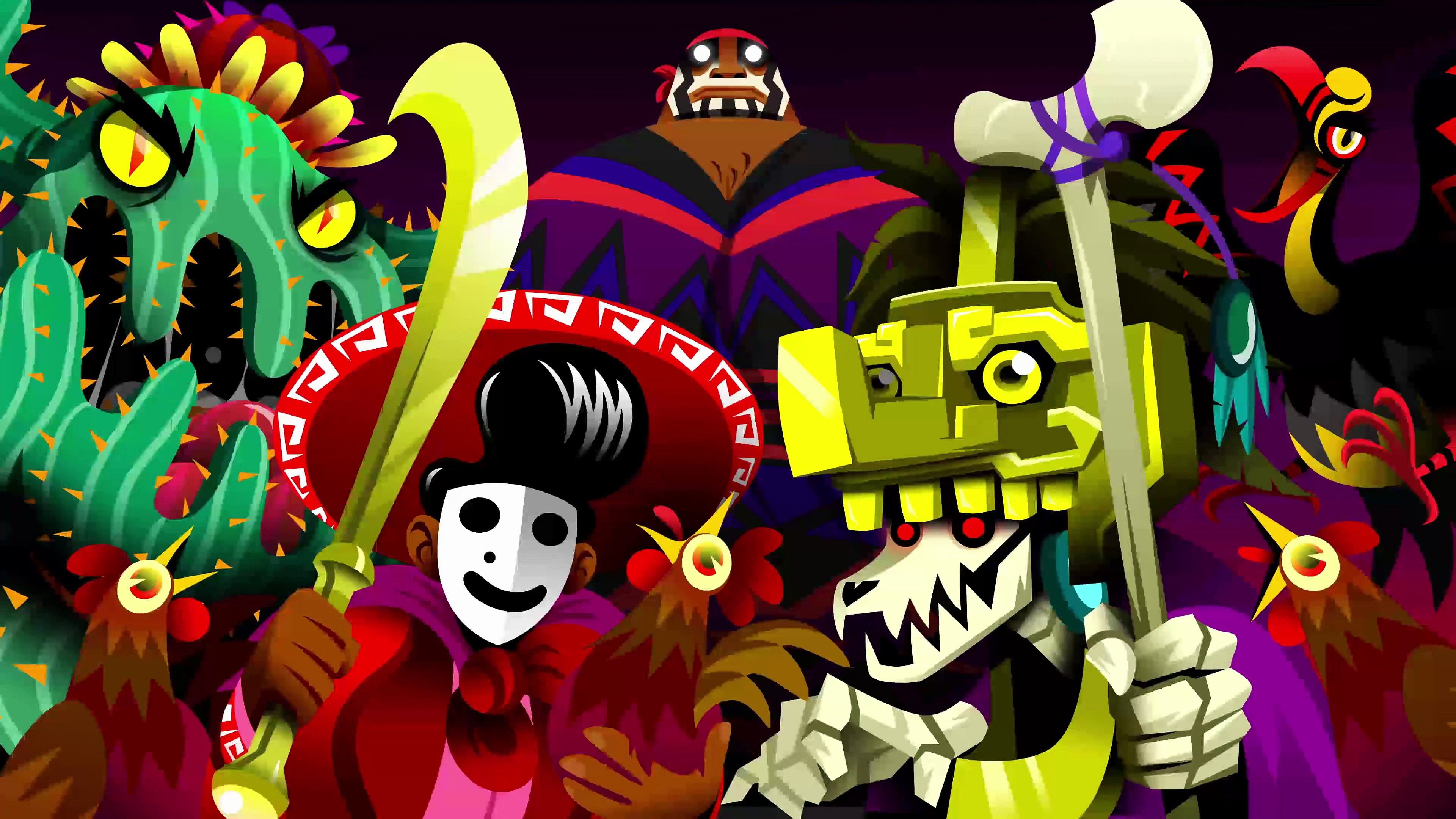 4k Guacamelee 2 Wallpaper Hd