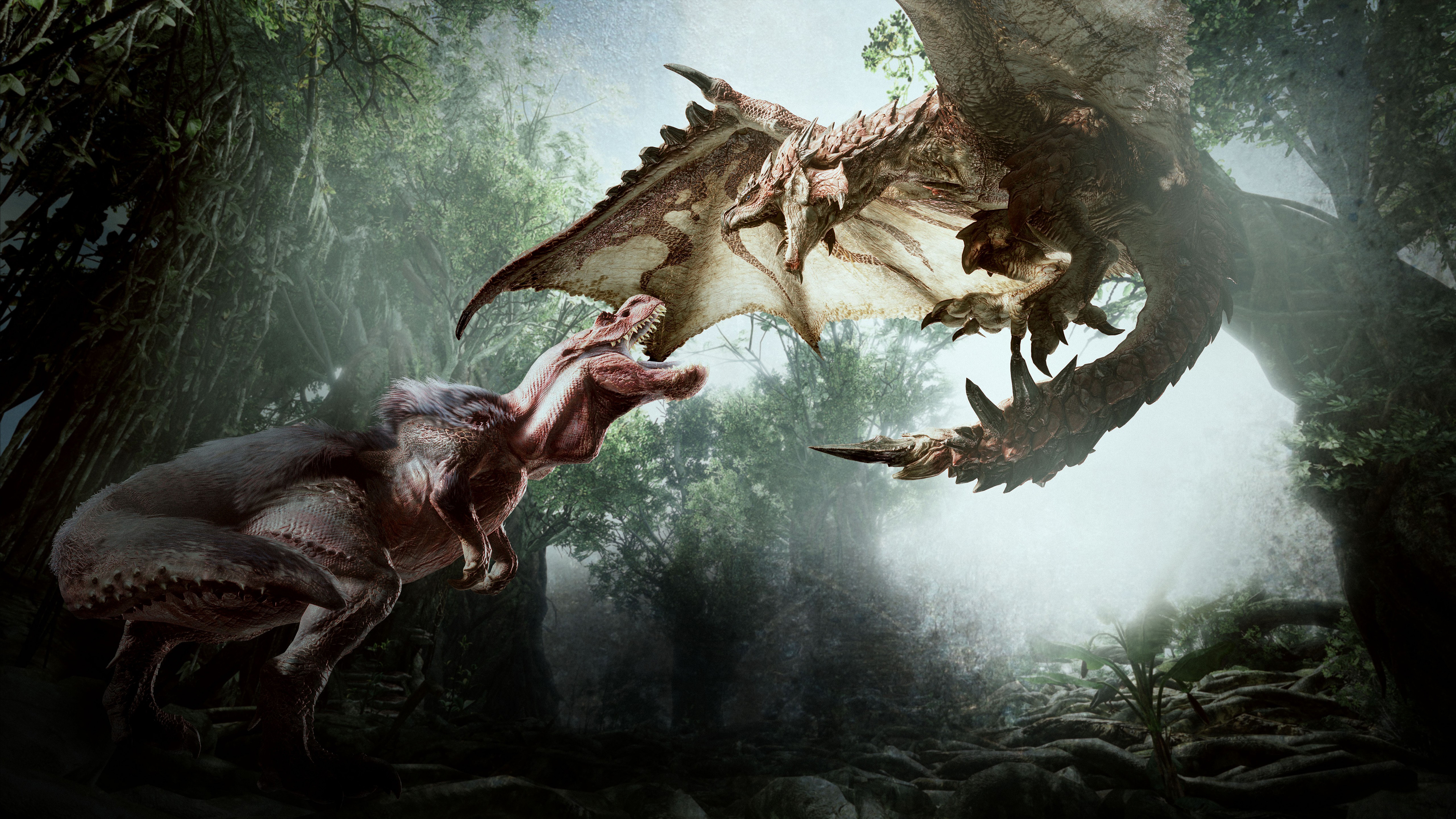 4k Monster Hunter World Wallpaper Hd