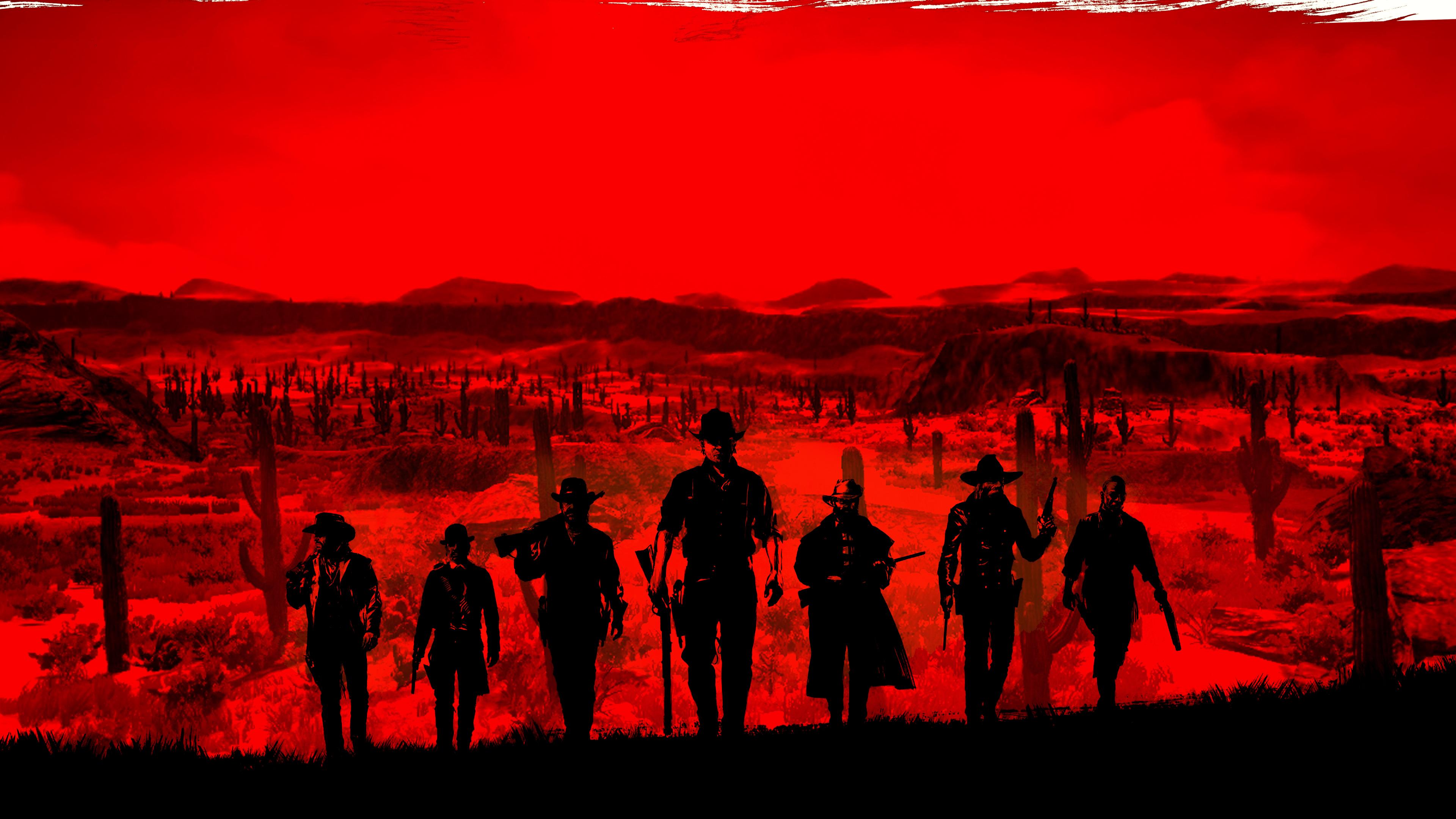 4k Red Dead Redemption Wallpaper Hd