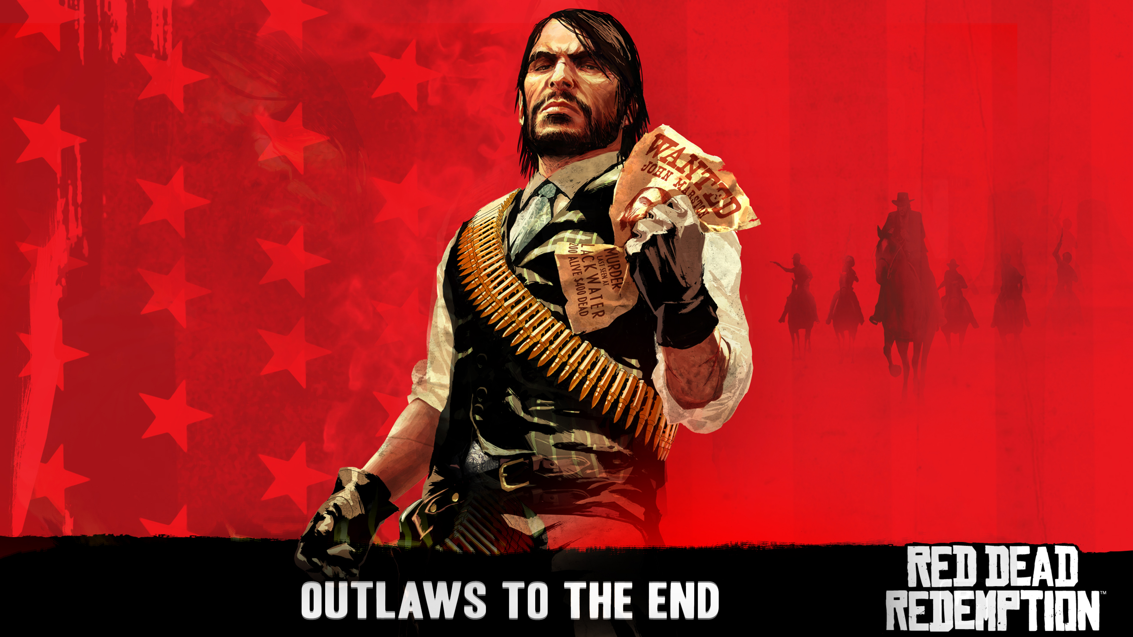 Red Dead Redemption Marston Wanted Desktop Background
