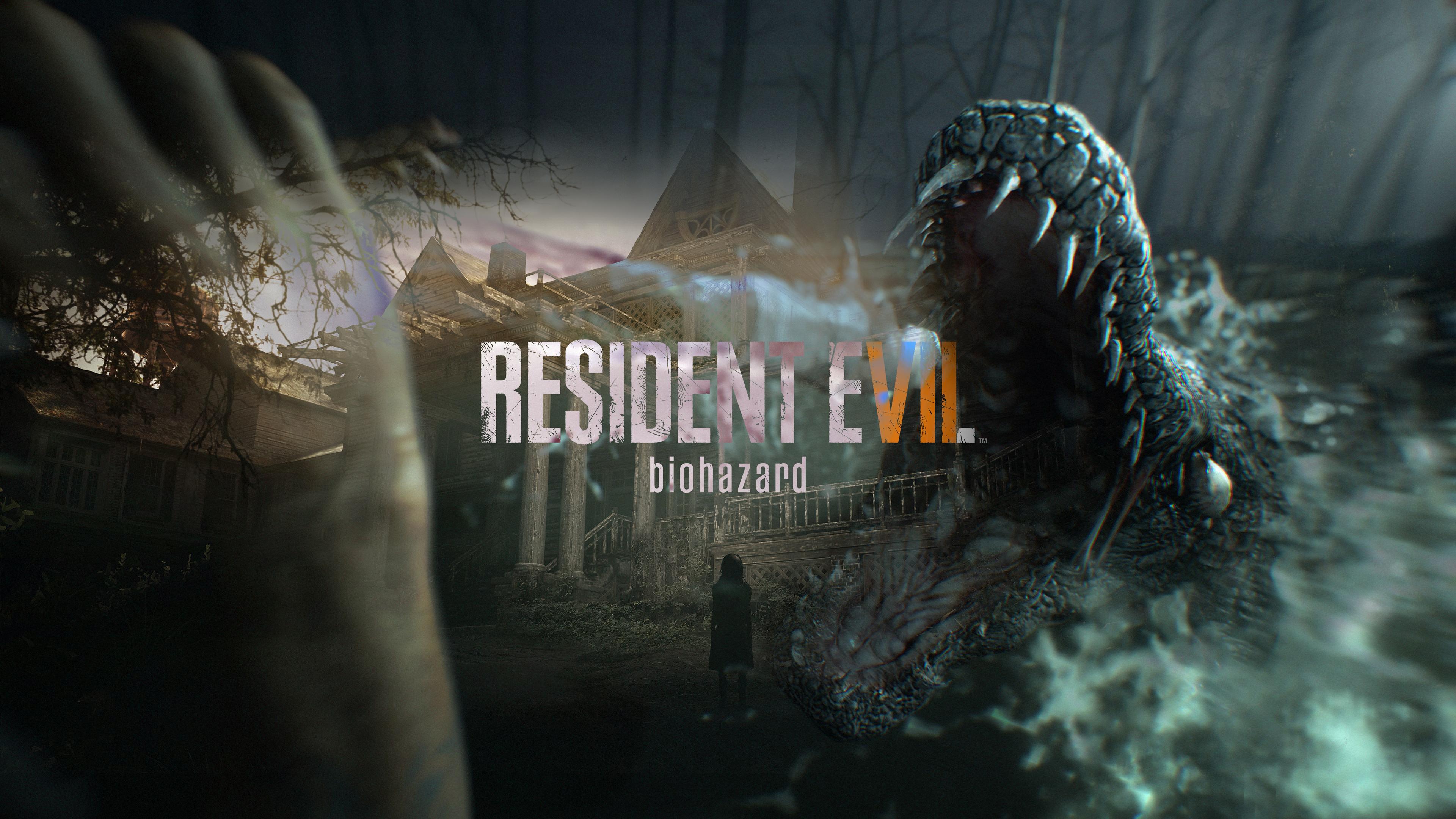 4k Resident Evil 7 Wallpaper Hd