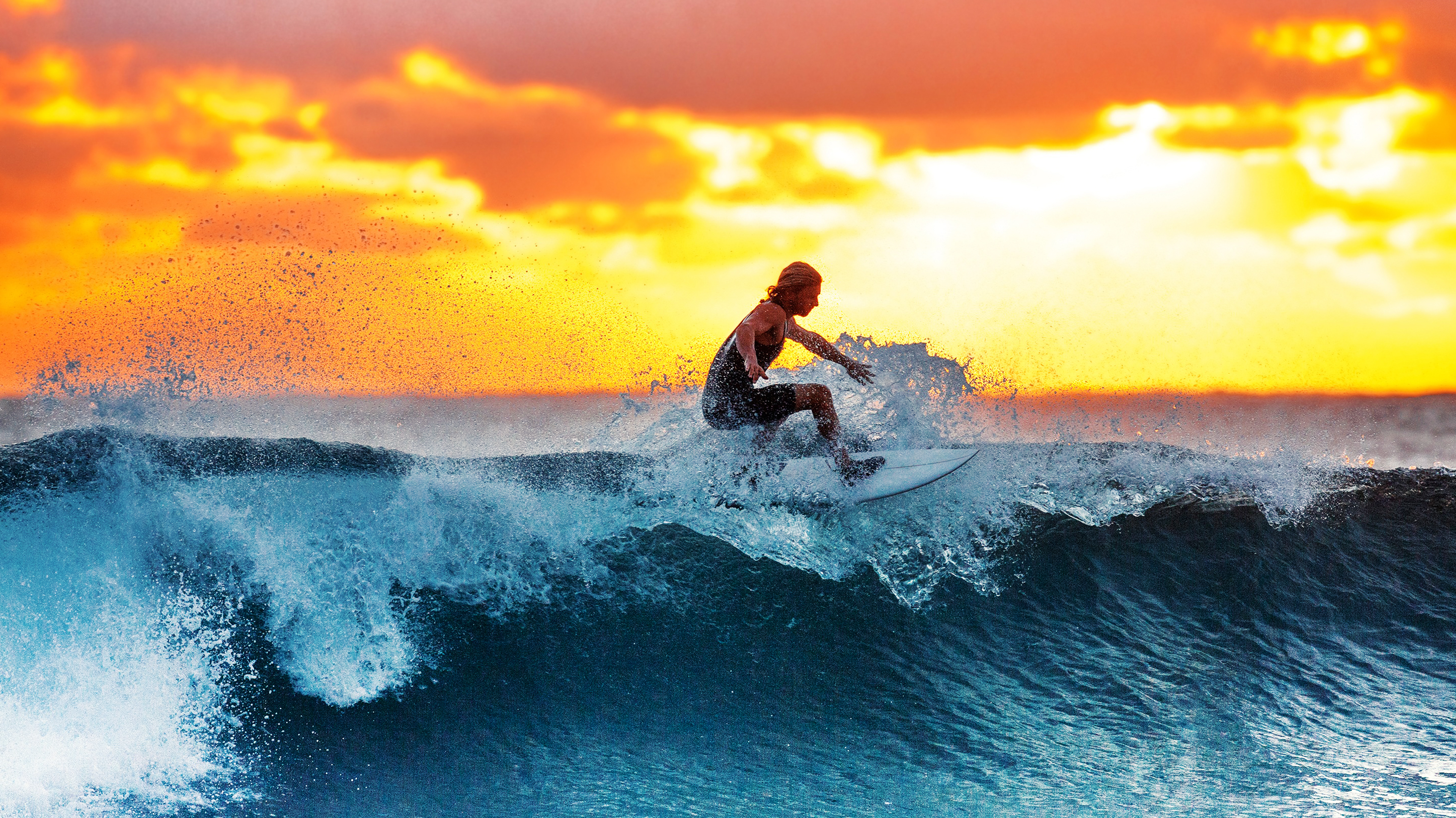 4k Surfer Wallpaper Hd