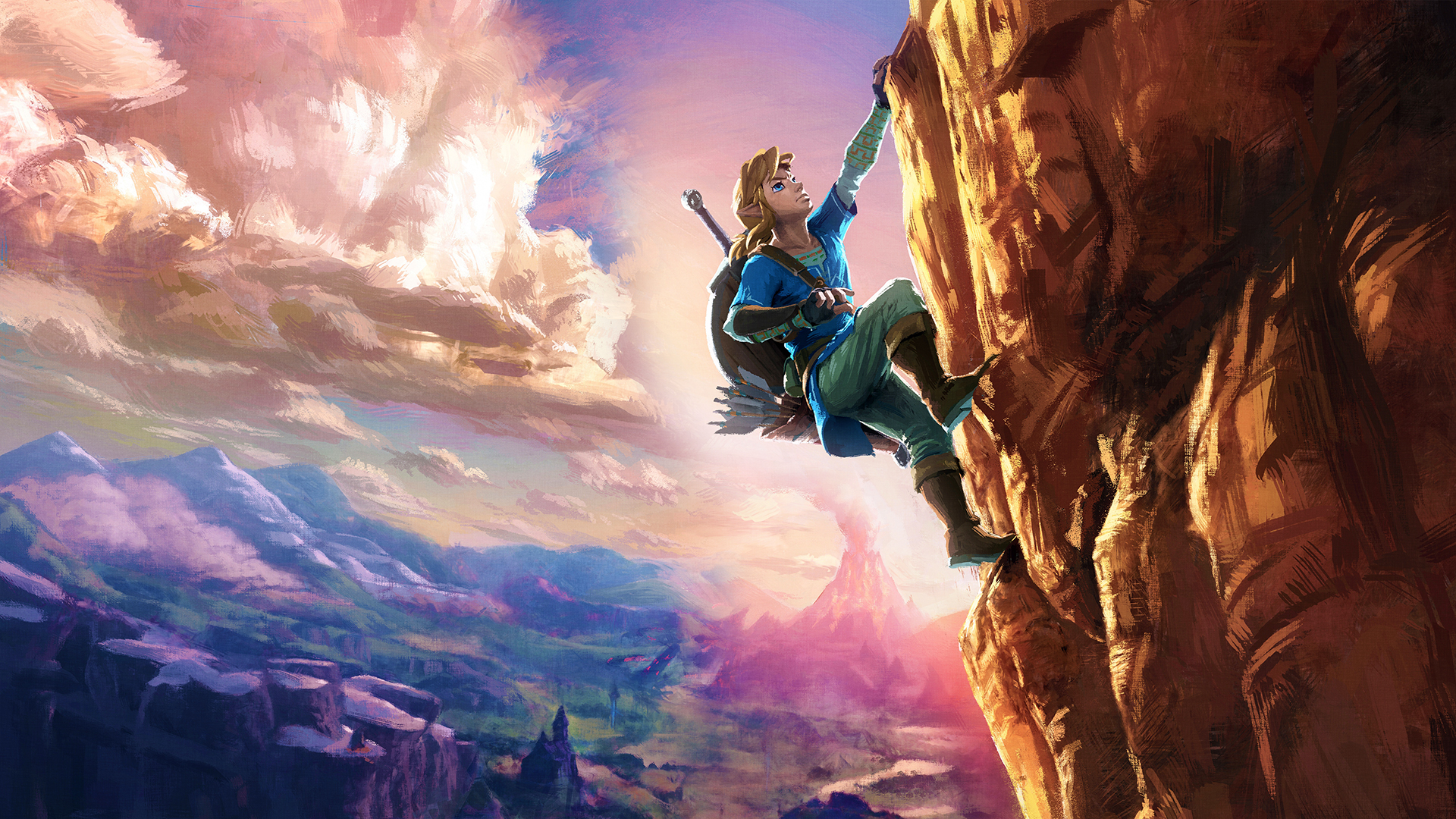 The Legend Of Zelda Breath Of The Wild Laptop Background