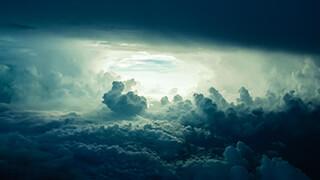 blue skies wallpaper