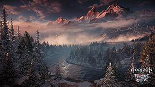 horizon zero dawn the frozen wilds wallpaper