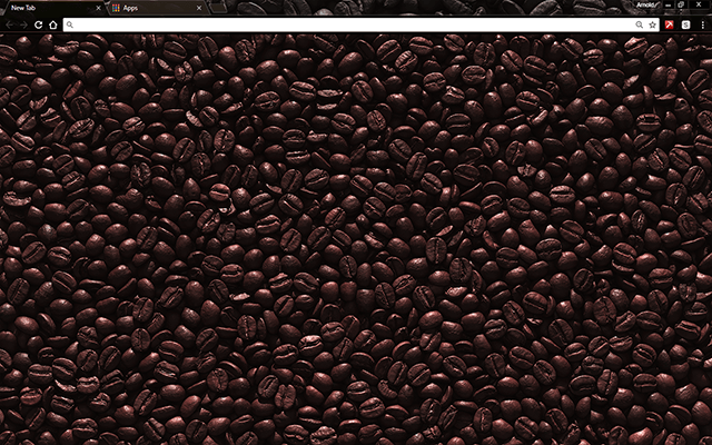 Black Coffee Google Chrome Theme