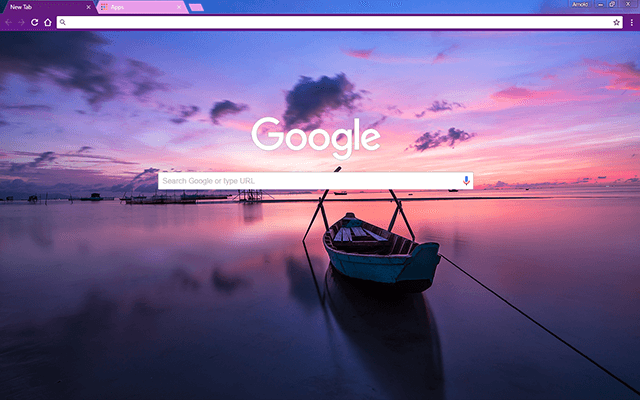 Sunrise Bay Google Chrome Theme