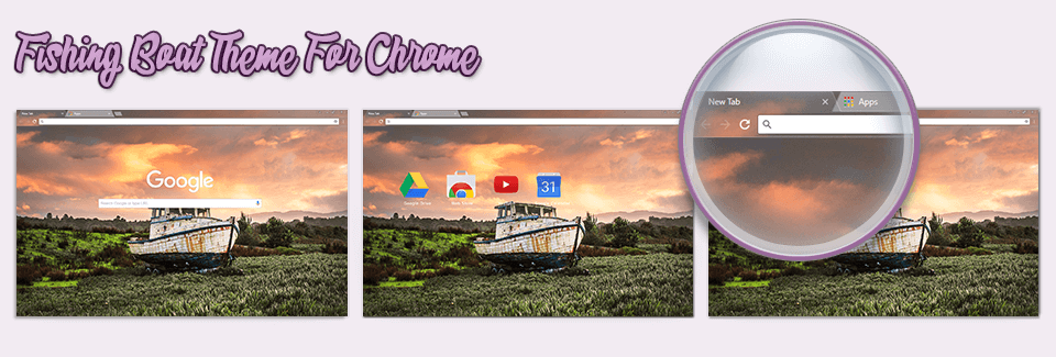 Fishing Boat Theme For Chrome