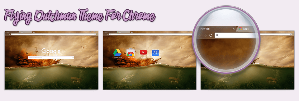 Flying Dutchman Theme For Chrome