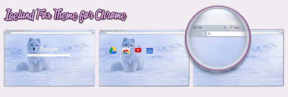 Iceland Fox Theme For Chrome