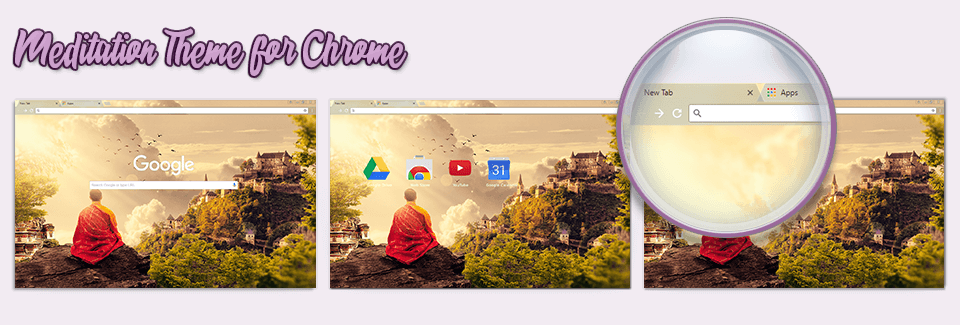 Meditation Theme For Chrome