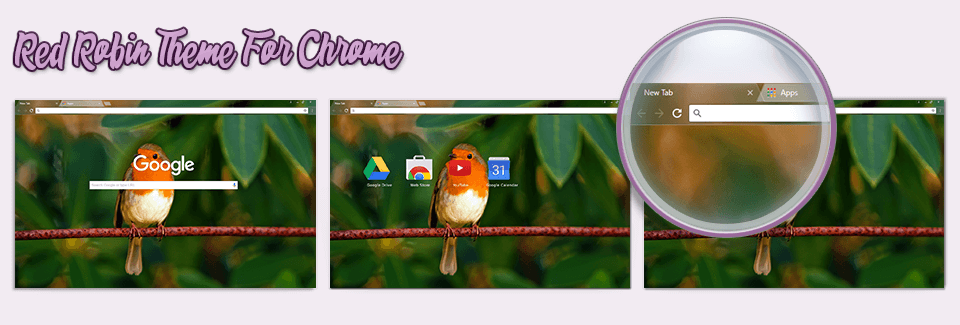 Red Robin Theme For Chrome