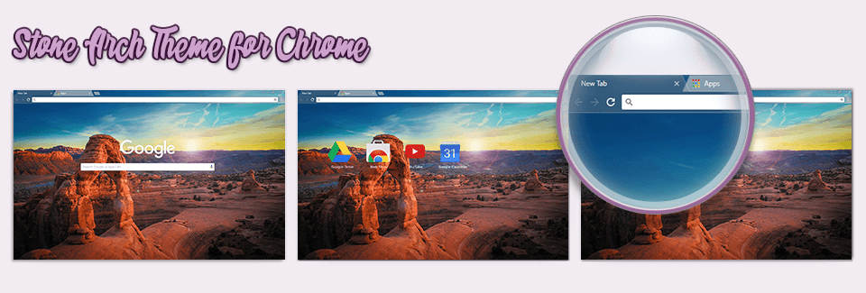 Stone Arch Theme For Chrome