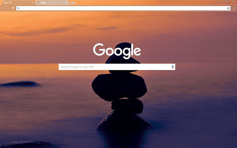 Balance Google Chrome Theme