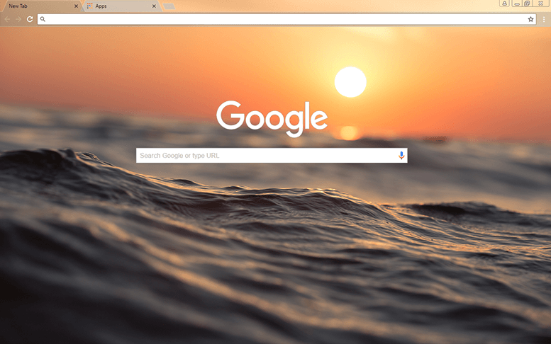 Dusky Waves Chrome Theme