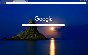 Blue Italy Google Chrome Theme