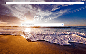 California Google Chrome Theme