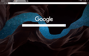 Cosmic Canyon Chrome Theme