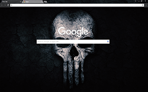 Crossbone Skull Google Chrome Theme