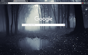 Dark Forest Chrome Theme