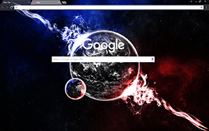 Earth 2.0 Google Chrome Theme