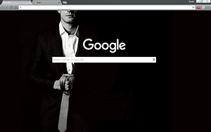 Fifty Shades Of Grey Chrome Theme