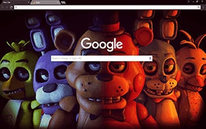 FNAF Google Chrome Theme