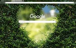 Heartscaping Google Chrome Theme