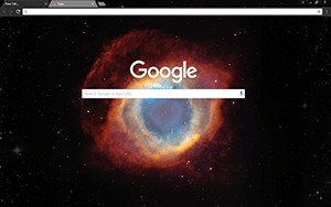 Helix Nebula Google Chrome Theme