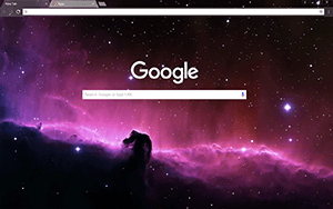 Horsehead Nebula Google Chrome Theme