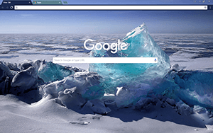 Icy Blue Google Chrome Theme