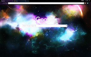 Incredible Space Chrome Theme
