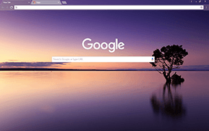 Late Sunset Google Chrome Theme
