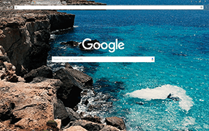 Mallorca Bay Google Chrome Theme