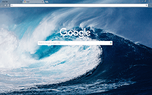 Mega Wave Google Chrome Theme