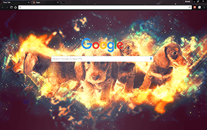 Moonstone Puppies Google Chrome Theme
