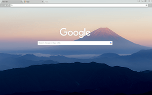 Mount Fuji Google Chrome Theme