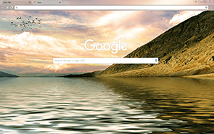 Mountain Shore Google Chrome Theme