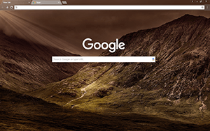 Mountains Google Chrome Theme