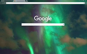 Northern Lights Google Chrome Theme