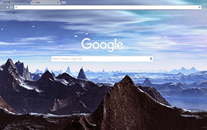 SciFi Planet Google Chrome Theme