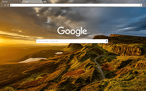 Scotland Google Chrome Theme