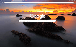 Sea Scape Google Chrome Theme