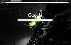 Shrapnel Google Chrome Theme