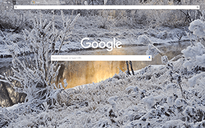 Snowy Creek Google Chrome Theme