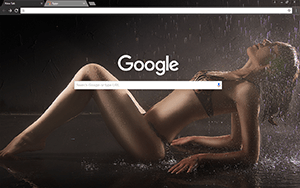 Wet & Sexy Google Chrome Theme