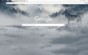 Wolf Google Chrome Theme