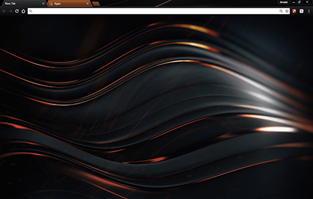 Chromatic Copper Chrome Theme