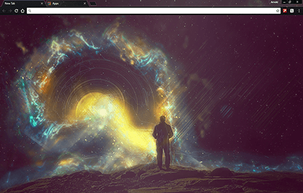 Cosmonaut Chrome Theme